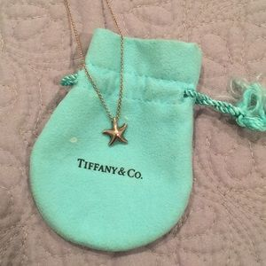 Tiffany & Co Elsa peretti starfish necklace